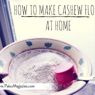 How To Make Cashew Flour At Home.