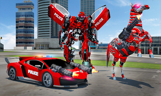 Download free US Police Multi Robot Transform: Wild Horse Games for PC on Windows and Mac apk screenshot 5