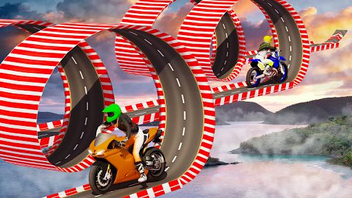 Stunt Bike Impossible Tracks-Race Moto Drive Game image | 3