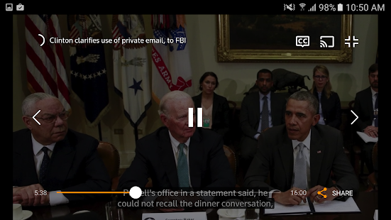 Reuters TV: Video News- screenshot thumbnail