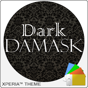 Xperia™ Theme Dark Damask