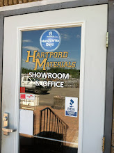 Photo: Hartford Materials in Johnston, RI proudly displaying their BBB Accreditation.