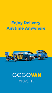 GoGoVan - Your Delivery App- screenshot thumbnail