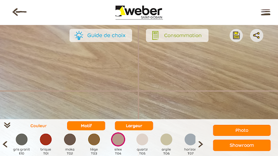 Webercolor- screenshot thumbnail