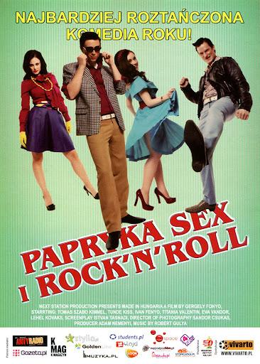 Przód ulotki filmu 'Papryka, Sex i  Rock'N'Roll'
