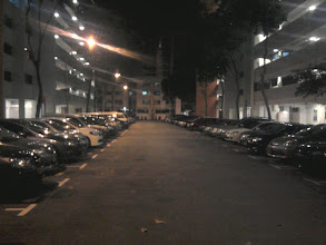 Photo: 03 January - Tampines - An eerie street that I passed from.