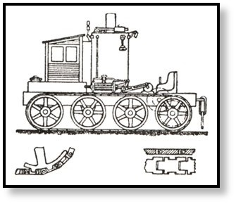 Early design implementing continuous tracks