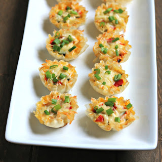 Mini Vegetable Quiche Phyllo Cups