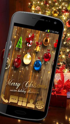 Christmas Bauble Theme GO ADW