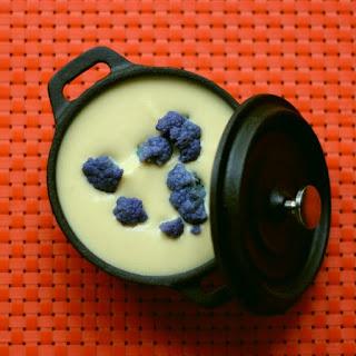 Spooky Cauliflower Soup