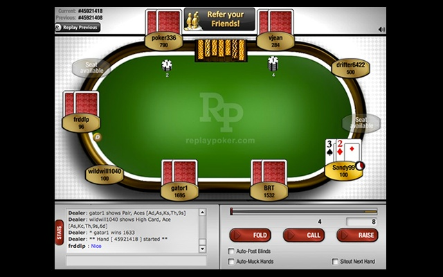 Poker texas holdem multiplayer