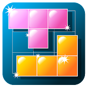 Block matching puzzle game