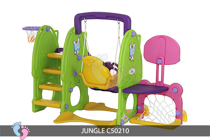 Cầu trượt cho bé Jungle C50210 3