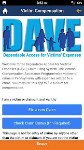 PA Crime Victims- screenshot thumbnail
