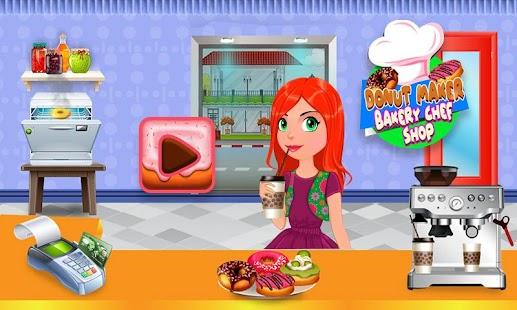 Bakery Donut Shop Business - Sweet Food Maker - náhled