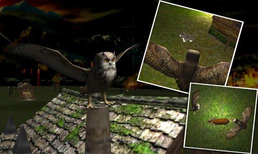 雕鸮鸟攻击辛