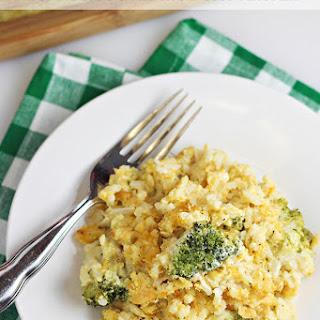 Easy Broccoli Rice Casserole