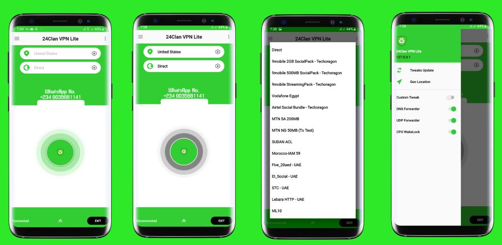 24clan VPN Lite - Free Internet For All Countries 1.2 Apk Download ...
