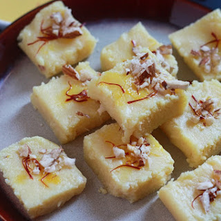 Simple Milk Powder Burfi