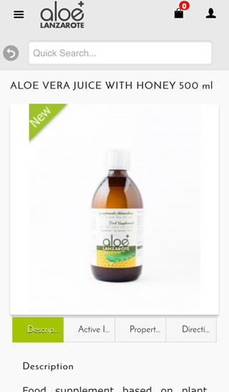 Aloe plus Lanzarote- screenshot