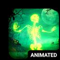 Skeleton Dance 4 Keyboard + Live Wallpaper icon