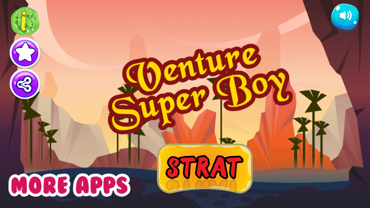 Venture Super boy- screenshot