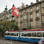 view from the rooftop of Widder Hotel in Zurich, Zurich, Switzerland
