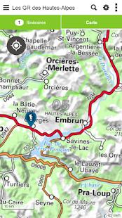 Download Les GR des Hautes-Alpes For PC Windows and Mac apk screenshot 3