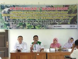 Sosialisasi Dispertan Kabupaten Ngawi