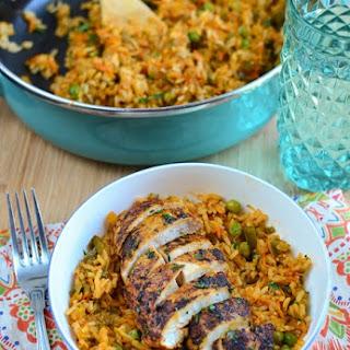Spanish Chicken and Rice.