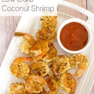 Low Carb Coconut Shrimp.