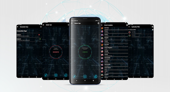 Matrix VPN – Fast, Free, Secure – VPN Proxy App Download For Android 1