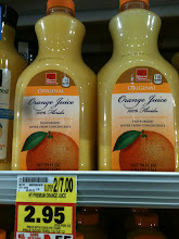 Photo: I've tried HT orange juice lately as it's cheaper than my normal brand of 'good' juice.