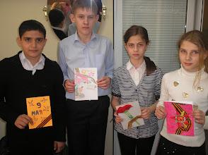 Photo: Ученики школы №17 со своими открытками! Спасибо, ребята!