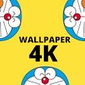 Kawai Blue Cat Wallpaper HD icon