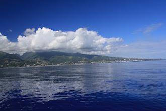 Photo: Approaching Papeete,Tahiti
