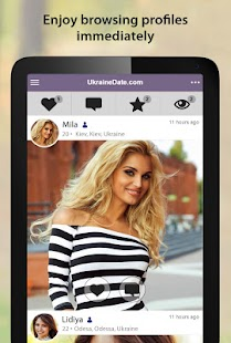 UkraineDate - Ukrainian Dating App- screenshot thumbnail