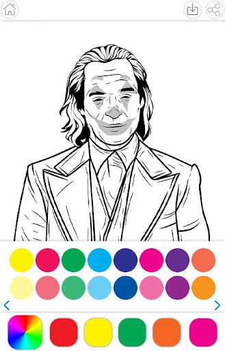 Heroes Joker Coloring Book 1.2.5 screenshots 1