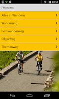 Screenshot of Touren in Baden-Württemberg