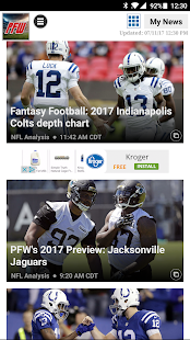 Pro Football Weekly- screenshot thumbnail