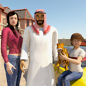 Virtual Happy Family: Billionaire Family Adventure