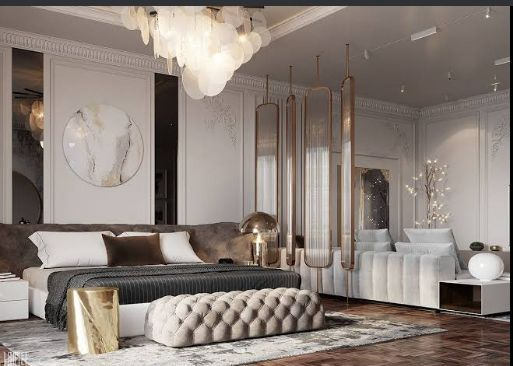 Master Bedroom with Separate Sitting Area