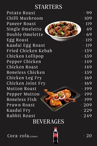 Jus Biryani menu 14