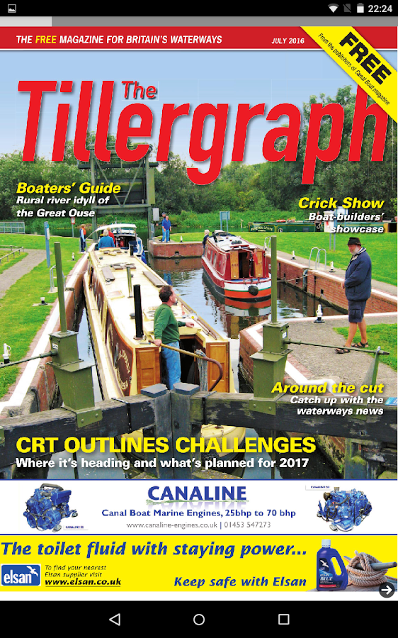 The Tillergraph: Canal Boating- screenshot