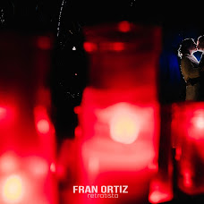 Wedding photographer Fran Ortiz (franortiz). Photo of 05.01.2018
