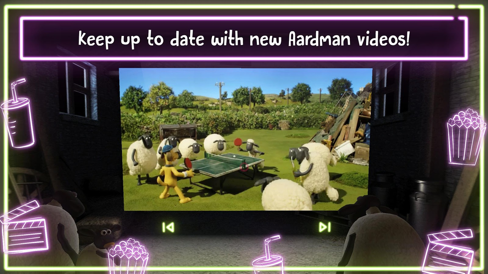 Shaun the Sheep VR Movie Barn- screenshot