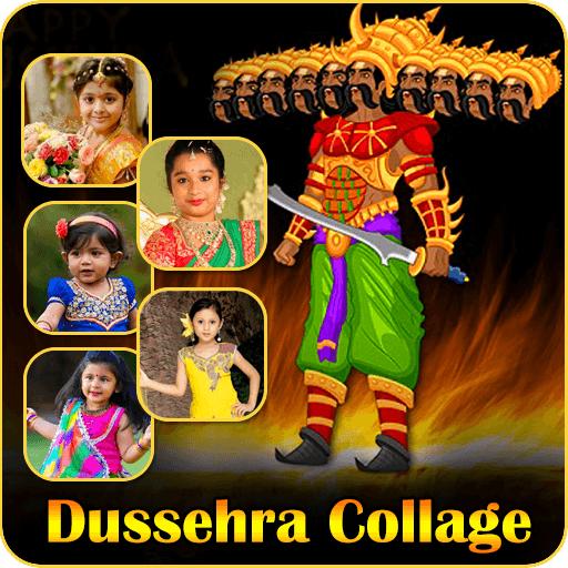 Dussehra Photo Frame Collage Maker