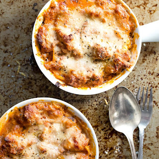 Creamy Ricotta and Tomato Sausage Lasagna