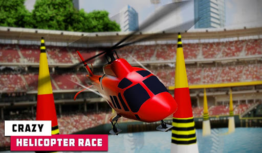 Flying Helicopter Simulator 2019: Heli Racer 3D  screenshots 11