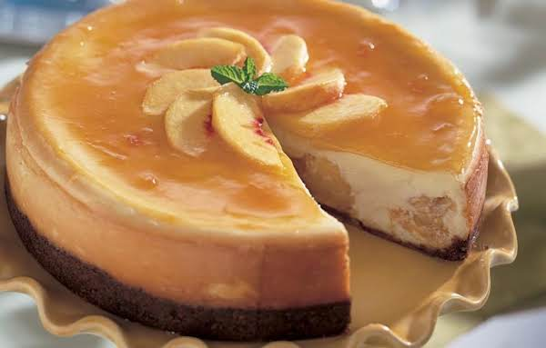 Fresh Peach Cheesecake Recipe